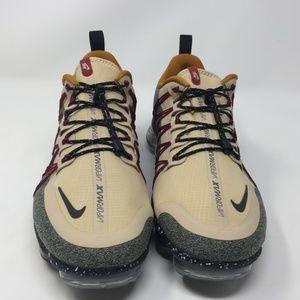 Nike Shoes - Nike Air Vapormax Run Utility DESERT ORE/SILVER